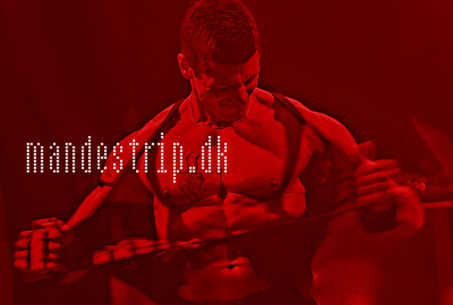 Mandestrip DK Frontcover One
